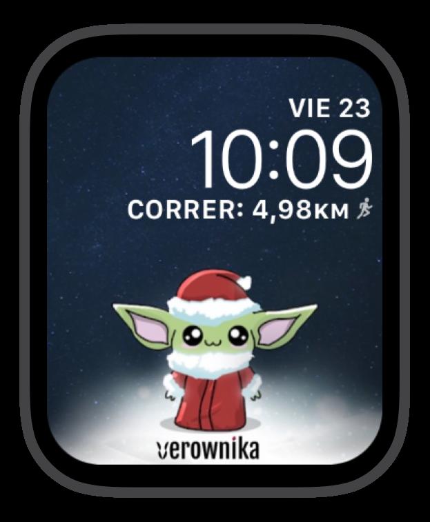 baby Yoda Christmas VEROWNIKA