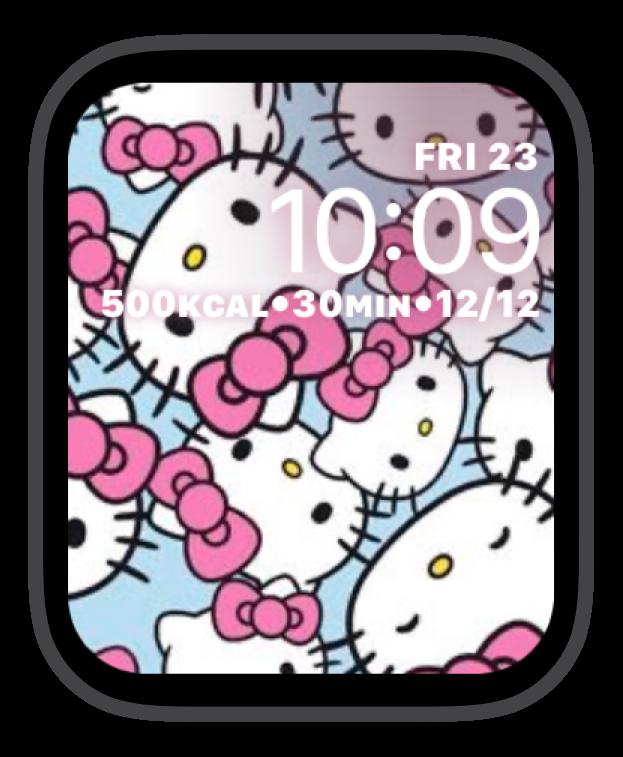 Hello Kitty Pink Blue