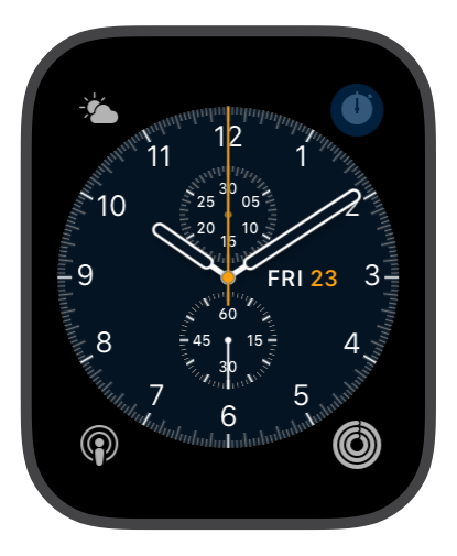 Chronograph Blue