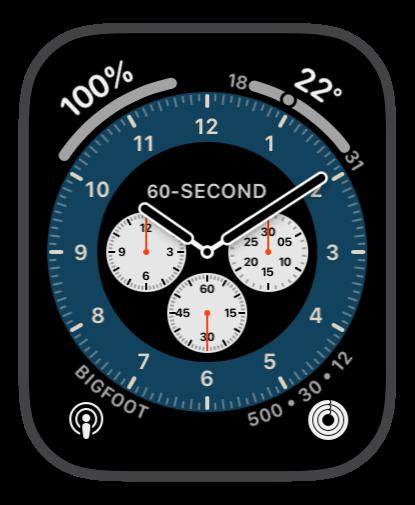 Chronograph Pro Blue